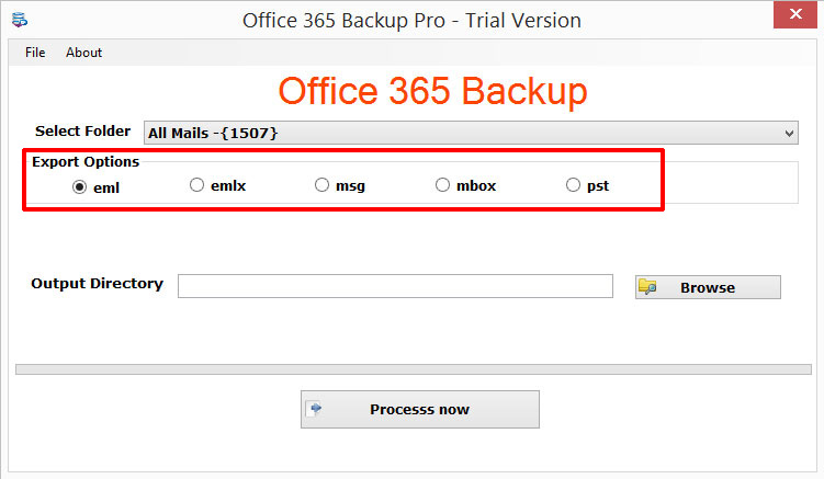 How backup office 365 tool work - Works to office converter ...